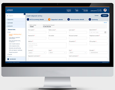 Banking Solution-DataMate User Experience Design