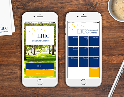 Liuc Università Cattaneo - Mobile App