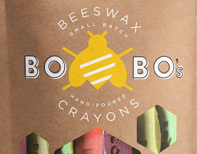 * Bo Bo's : Beeswax Crayons//