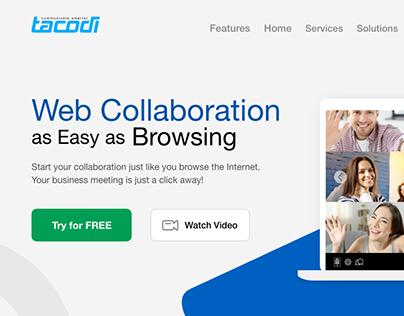 Tacodi Website design