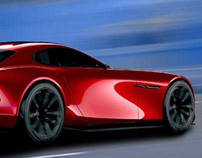 Facebook banner - Mazda RX Vision