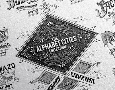 The Alphabet Cities Collection Book & Prints