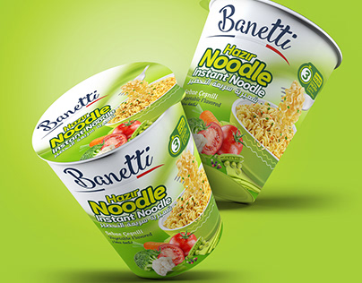 Banetti Instant Noodle Cup