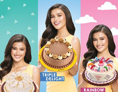 Goldilocks Triple Flavor Cakes Campaign
