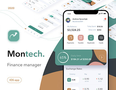 Montech - finance manager, mobile application