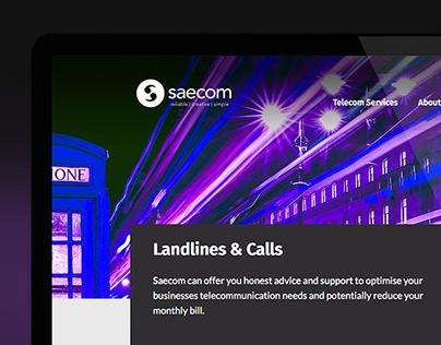 Saecom - Web Design