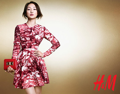 H&M CNY Campaign with Zhou Xun and Archie Kao