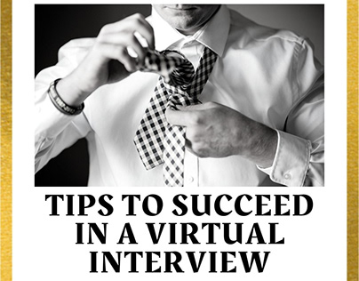 Tips to succeed in a virtual interview