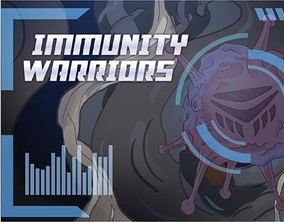 Immunity Warriors Digital Comic Book