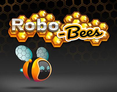 """""""Robo-Bees"""" - Concept Art for 3D cartoon"""
