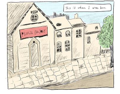 Comic: The Scared Pencil