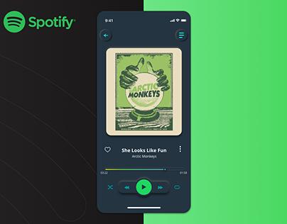 Spotify Redesign App