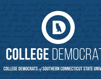 SCSU College Democrats Banner
