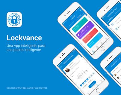 Lockvance app