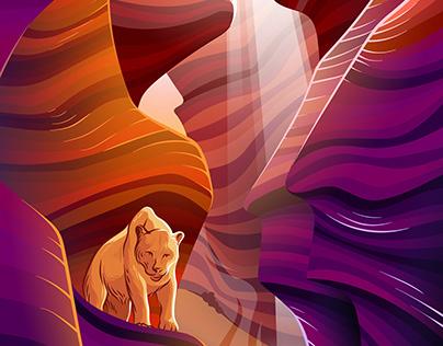 Cougar and Canyon