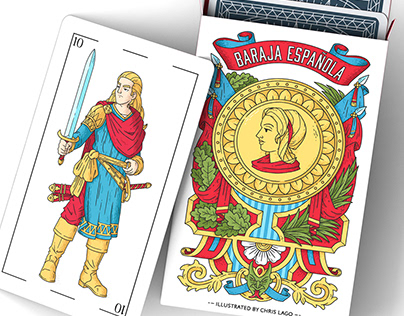 PLAYING CARDS 'LA BARAJA'