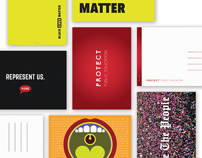 Activism Postcards