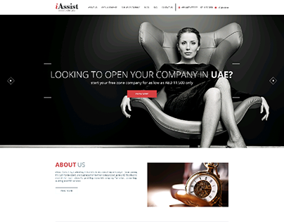 WEBSITE LAYOUT DESIGN - HOMEPAGE OPTIONS - IASSIST