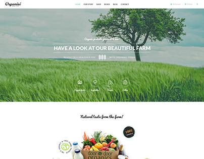 Organici - Organic Store WordPress Theme