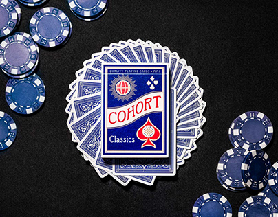 Cohort Playing Cards - Red and Blue