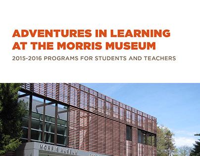 Morris Museum Education Guide - 2015/2016