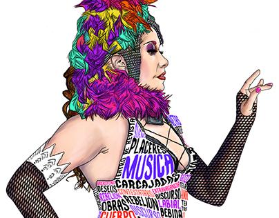 Imagen para el XV Festival Internacional de Cabaret