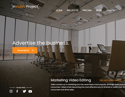inVideo Project | Web Design