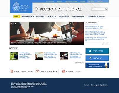 Dirección de Personal UC