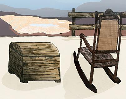 Ilustração para edição 11 da Revista Cagece - ANO IV