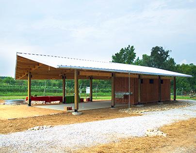 Agroecology Harvest Barn | Design + Build