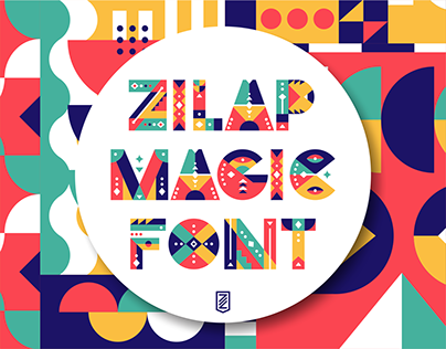 ZILAP MAGIC FONT