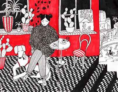 Catania sketchbook