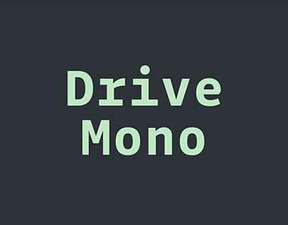 Drive Mono Font
