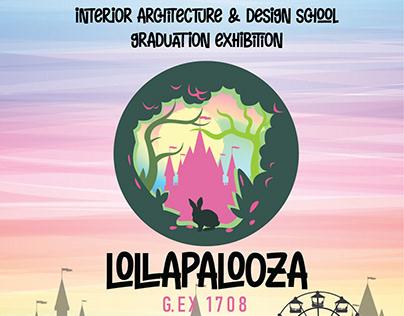 Lolallapalooza GEX 1708 Booklet