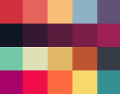 Beautiful 20 Color Palettes