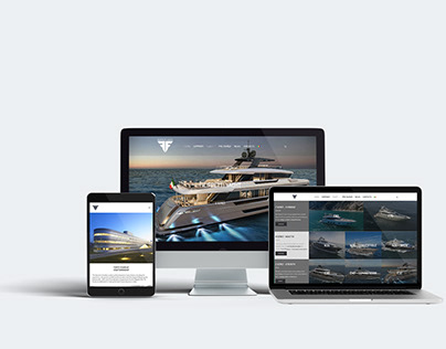 Filippetti Yacht - Responsive web site