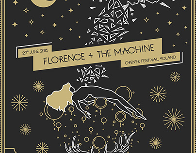 florence and the machine opener poster