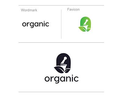 Herbal Medicine Logo Design Concept