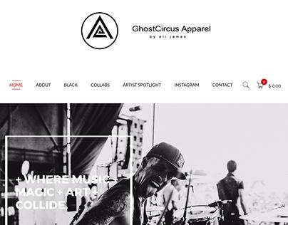 ghostcircusapparel.com re-design