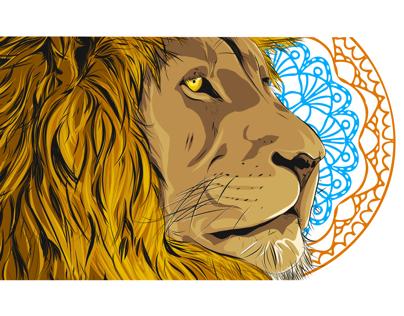 Lion #MakeItonMobileContest @CreativeCloud