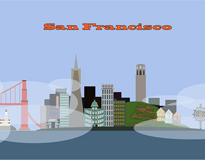 AfterEffects San Francisco City Animation
