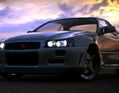 Nissan Skyline GT-R (R34) 3D