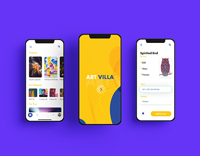 Art Store App Concept