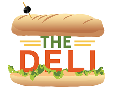 """Sketches for """"The Deli"""" Sign"""