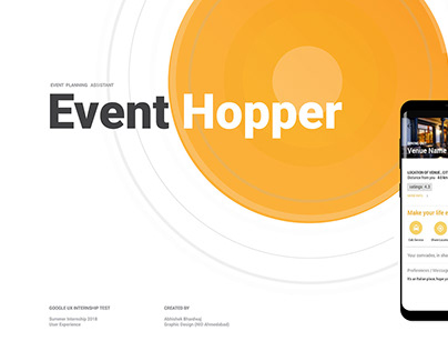 Event Hopper - Mobile App