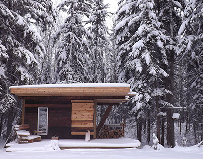 Built: Northern Cabin, Recycled, $400, 96sq ft + loft