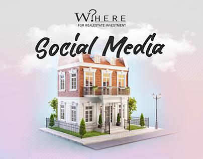 Where Realestate - Social Media
