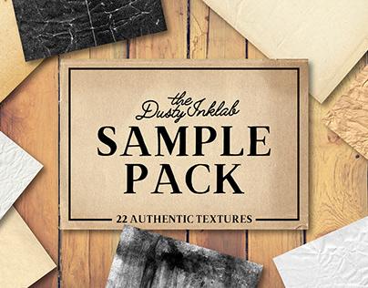 THE DUSTY INKLAB FREE VINTAGE PAPER SAMPLE PACK