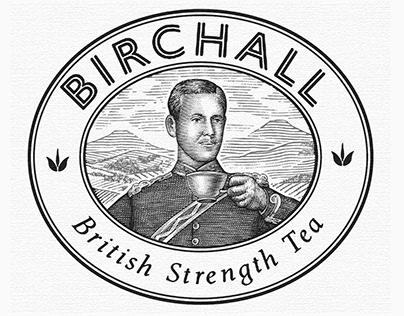 Birchall Tea Brandmark Illustrated by Steven Noble