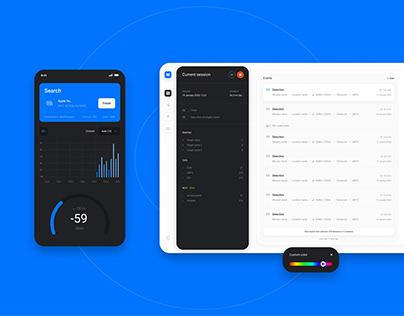 UI & UX Design // Phone Comms Security